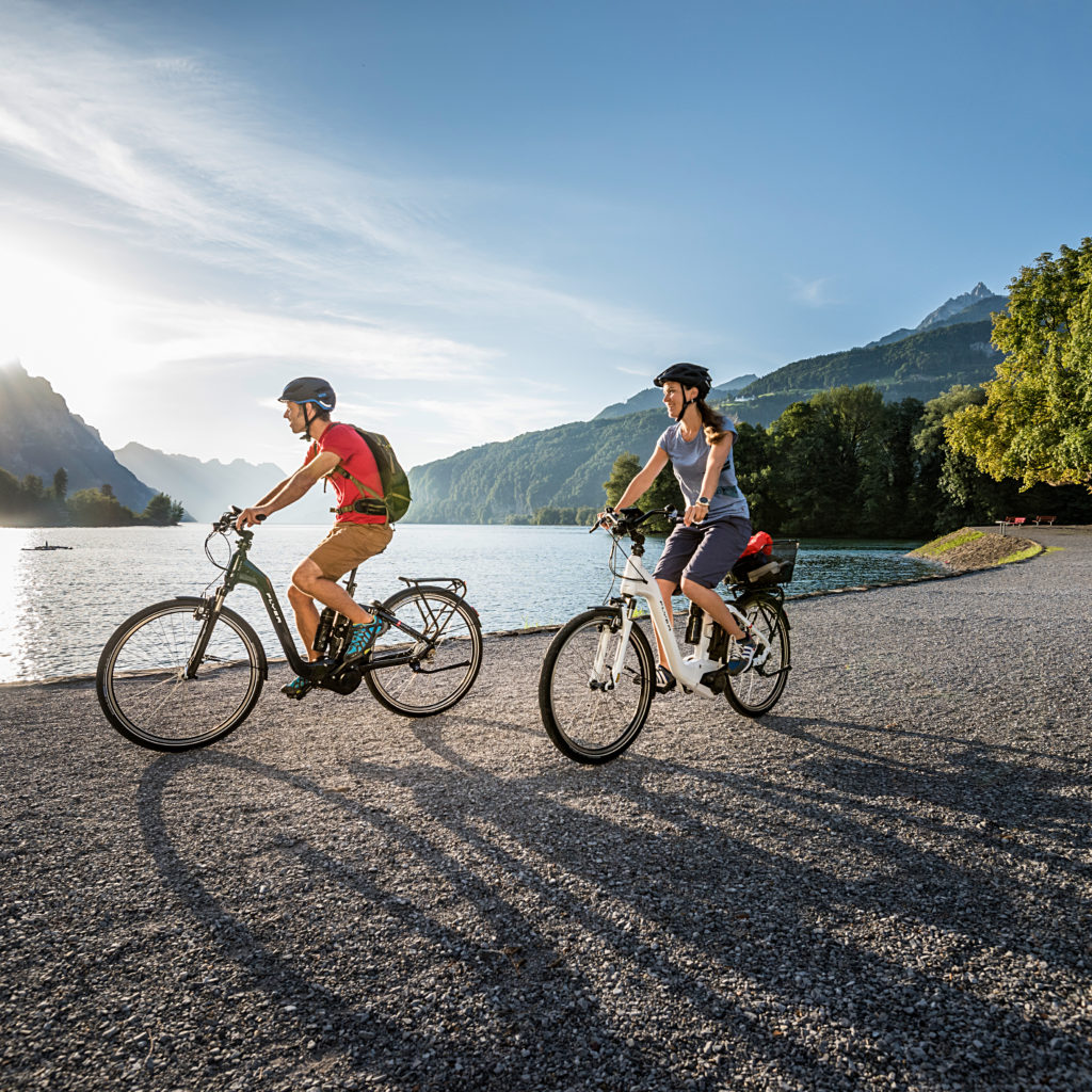 E-Bikes zum Mieten